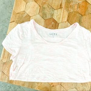 2/30% OFF Loft Scoop Neck Washed Tee